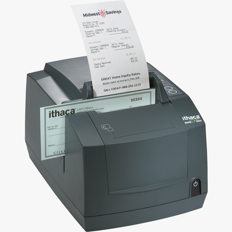 Transact BANKjet 1500 Inkjet Receipt and Validation Printer