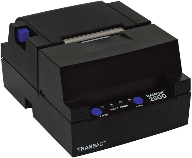 Transact BANKjet 2500 Inkjet Teller Receipt Validation Printer